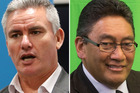 Kelvin Davis, left, and Hone Harawira. Photos / File