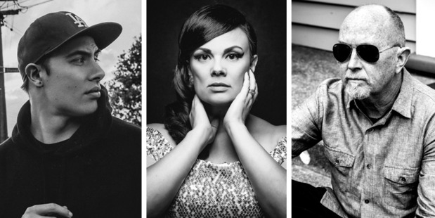 David Dallas, Tami Neilson and Dave Dobby are finalists for the Apra Silver Scroll.