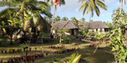 Lush gardens surround Heilala Holiday Lodge in Tonga. Photo / Sue Baxalle