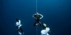 Watch NZ Herald Focus: Trubridge record breaking dive
