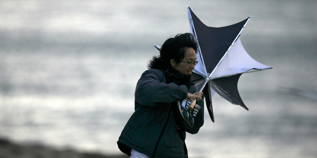 A severe weather watch has been issued for the Bay of Plenty. Photo/File