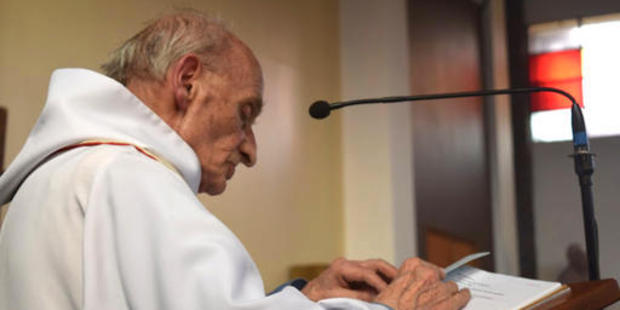 This is an undated image of French Priest Jacques Hamel who was killed in his church by men claiming to be from Isis. Photo / AP