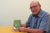 Darryl Russell with a copy of the book he has written and published that will be launched in Waipukurau next week.