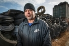 A dispute has arisen over dumped tyres at a dysfunctional South Auckland business