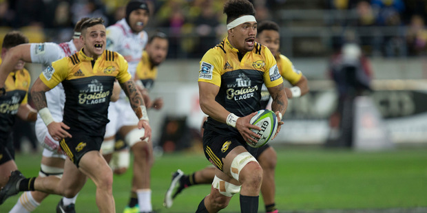 Hurricanes flanker Ardie Savea. Photo / Mark Mitchell