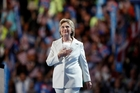 Hillary Clinton received ecstatic cheers from thousands of delegates as she strode into the Democratic National Convention in Philadelphia. Photo / AP