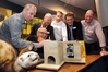 Campbell Leckie (left), Ruud Kleinpaste, Bruce Wills, Simon Croft, Andy Lowe and Reg Kemper with the latest pest control technology at last year's launch of the Cape to City project.