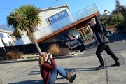 Germans Stephanie Werner and friend Marie Hammerschmidt heard about Baldwin St while travelling. Photo / Otago Daily Times
