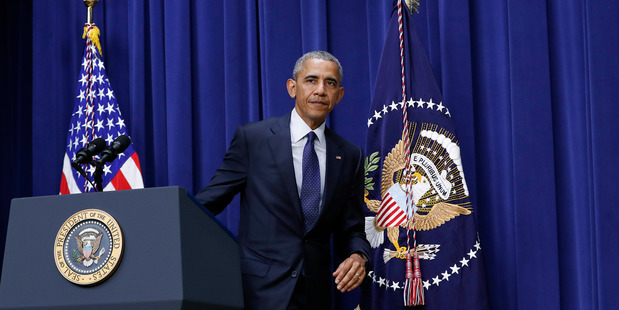 White House officials said President Barack Obama's attendance at DNC events is well within the law. Photo / AP