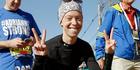 Boston Marathon bombing survivor Adrianne Haslet. Photo / AP