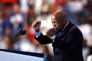 Congressman John Lewis of Georgia. Photo / AP