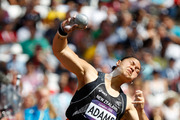 Athletes competing at Rio 2016, such as Kiwi shot putter Valerie Adams, have been warned about their sponsorship and social media usage during the Games. Photo / Mark Mitchell