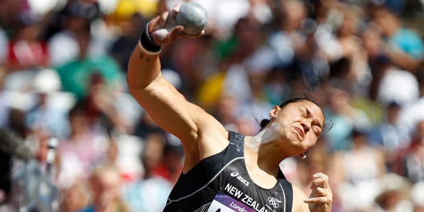 Loading Athletes competing at Rio 2016, such as Kiwi shot putter Valerie Adams, have been warned about their sponsorship and social media usage during the Games. Photo / Mark Mitchell