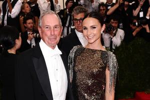 Michael Bloomberg and his wife Georgina Bloomberg. Photo / AP