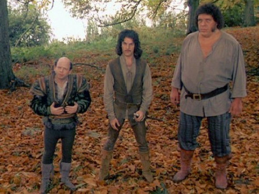 Andre The Giant in The Princess Bride.Source: Twitter