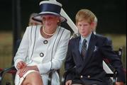 Prince Harry was 12 when his mother died in a car crash in Paris. Photo / AP