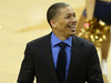 Cleveland Cavaliers head coach Tyronn Lue reacts during the NBA Finals. Photo / Getty Images