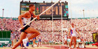 Dan O'Brien single-handedly pole vaulted Reebok's campaign into advertising infamy.Photo/AP