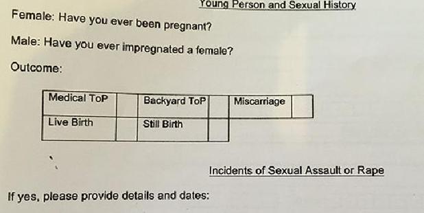 Rape is so common in South Africa, it's included on an application form. Photo / Supplied