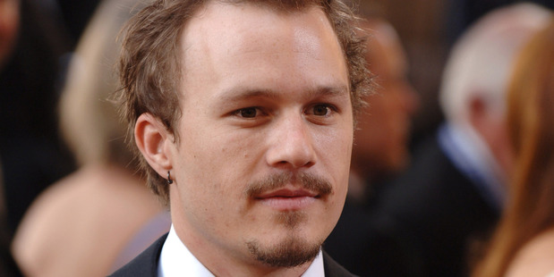 Heath Ledger died from a drug overdose. Photo / Getty Images