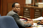 Dr. Conrad Murray believes Michael Jackson sought him out and specifically hid a history of drug addiction from him. Photo / Getty Images