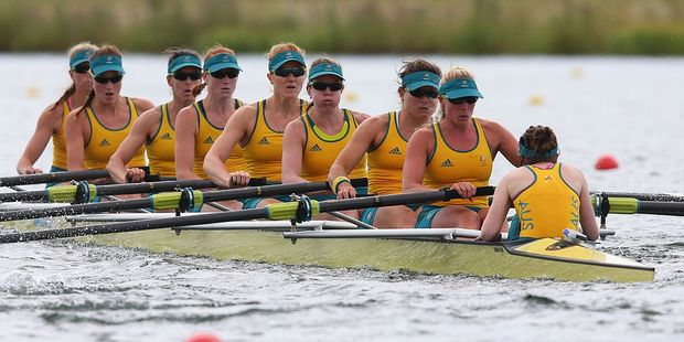 The Australian women's rowing eight will compete at Rio after Russian boats were withdrawn. Photo / Getty