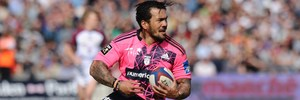 New Crusaders signing Digby Ioane playing for Stade Francais. Photo / Getty