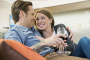 Husbands and wives who have the same drinking habits tend to be happier than those where only one partner consumes alcohol. Photo / Getty