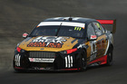 Chris Pither drives the #111 Super Black Racing Ford during a V8 Supercars test day. Photo / Getty Images