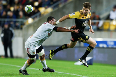 Beauden Barrett was again in imperious form as the Hurricanes booked their ticket for the final. Photo / Getty