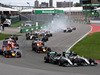 Nico Rosberg and Lewis Hamilton lead the F1 pack at the Canadian Grand Prix. Photo / Getty Images