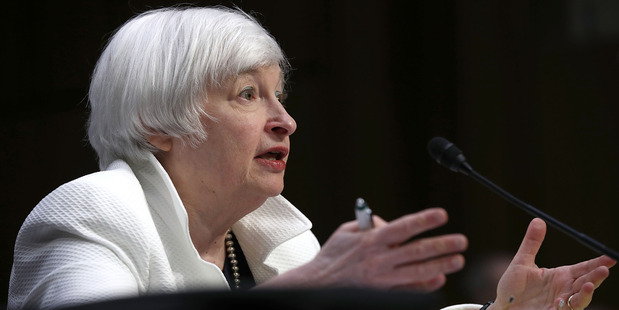 Analysts said the next important signal of the Fed's thinking could come when Chair Janet Yellen speaks at an annual central bank conference in late August. Photo / Getty Images