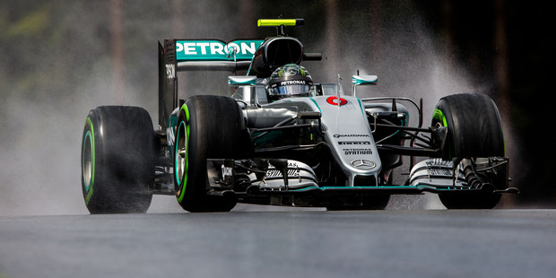 Nico Rosberg during practice for the Formula One Grand Prix of Austria. Photo / Getty Images