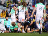 Stephen Larkham feels his team were robbed after wing Lausii Taliauli was denied a last gasp try by referee Angus Gardner. Photo / Getty Images