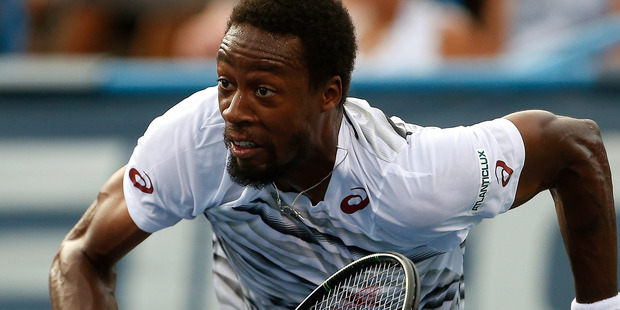 Gael Monfils during the Citi Open at Rock Creek Tennis Center, Washington DC. Photo / Getty Images