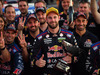 Shane Van Gisbergen celebrates after winning at the V8 Supercars Ipswich Supersprint. Photo / Getty Images