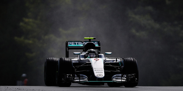 Nico Rosberg during qualifying for the Formula One Grand Prix of Hungary. Photo / Getty Images