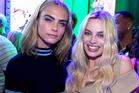 Cara Delevingne and Margot Robbie of 'Suicide Squad'.
