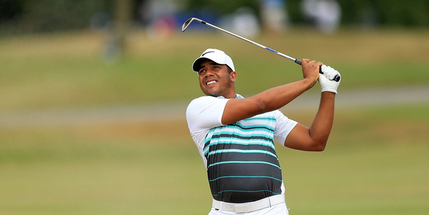 Jhonattan Vegas during the final round of the RBC Canadian Open. Photo / Getty Images