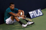 Nick Kyrgios has had another meltdown. Photo / Getty Images