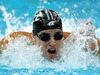 Moss Burmester competes in the Men's 200m Butterfly heats at the 2008 Beijing Olympic Games. Photo / Getty.