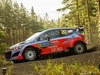 Hayden Paddon competes at Rally Finland. Photo / Supplied