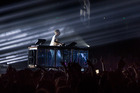 Flume captivated a sellout crowd at Auckland's Vector Arena. Photo / Leah Victoria, Libel Music