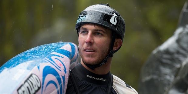 New Zealand kayaker Mike Dawson. Photo / Jamie Troughton