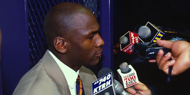 Michael Jordan breaks silence on gun violence letter. Photo / Getty Images.