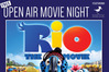 Free open air movie night has been postponed. Photo/supplied