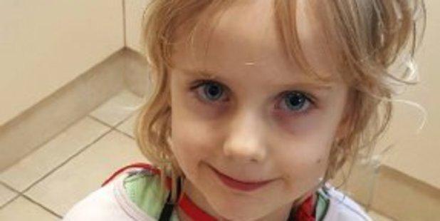 Missing 5-year-old  Jocelyn. Photo / Twitter