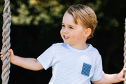 Prince George is third in line to the British throne. Photo / Getty