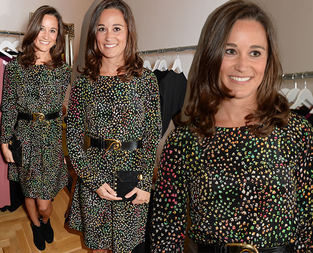 Pippa Middleton attends the launch of designer and entrepreneur Tabitha Webb's first retail store in London, England. Photo / Getty Images