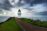 The lighthouse at Cape Reinga, the end of a mammoth 6200km road trip to find out what it means to be Kiwi in 2016. Photo / Mark Mitchell